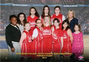 Sophie's Stars - Greenwich Village Basketball
