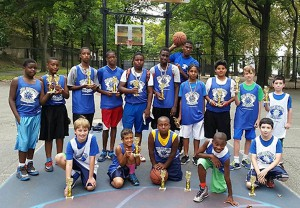 Tennis and Basketball Day-Camp in Riverside Park